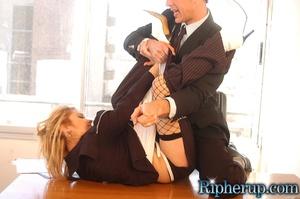 Roughsex. Stunning blonde has her clothe - XXX Dessert - Picture 7