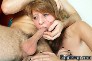 Rough sex porn. Sexy redhead suffers dee - XXX Dessert - Picture 18