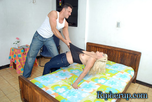 Roughsex. Blonde gets roughed up and clo - XXX Dessert - Picture 4
