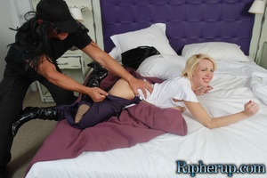 Humiliated. Busty blonde gets pants ripp - XXX Dessert - Picture 8