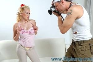 Disgraced porn. Big tit blonde gets her  - XXX Dessert - Picture 4