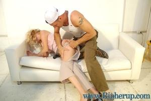 Disgraced porn. Big tit blonde gets her  - XXX Dessert - Picture 6