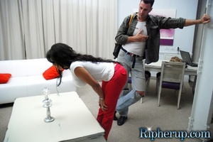 Free rough sex. Busty black gets her red - XXX Dessert - Picture 6