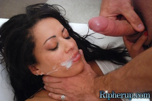 Free rough sex. Busty black gets her red - XXX Dessert - Picture 18