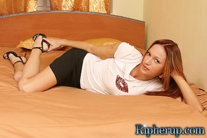 Rough porn. Redhead babes boyfriend tear - XXX Dessert - Picture 1