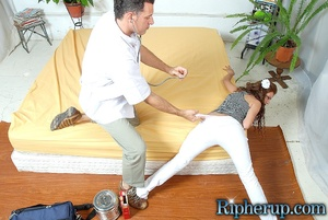 Rough porn. Sexy Latina gets her pants r - XXX Dessert - Picture 4