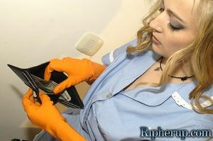 Rough sex porn. Stud rips off maids clot - XXX Dessert - Picture 2