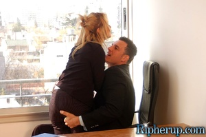 Roughsex. Horny guy rips off sexy blonde - XXX Dessert - Picture 4