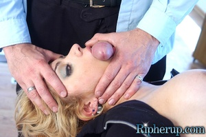 Hard fucked. Stud tears off hot blondes  - XXX Dessert - Picture 8