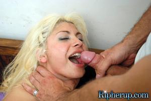 Hard porn. Petite blonde beauty gets ove - XXX Dessert - Picture 16