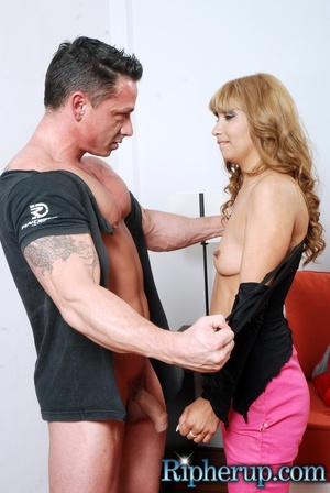Humiliated. Naughty babe lets stud rip o - XXX Dessert - Picture 3