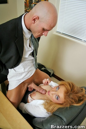 Best boobs. Busty office girl getting he - XXX Dessert - Picture 6