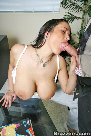 Office lady. Busty office slut Carmella  - XXX Dessert - Picture 7