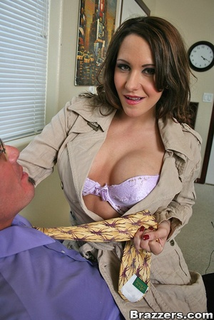 Large breasts porno. Slutty office bitch - XXX Dessert - Picture 4
