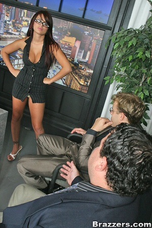 Big titties. Eva Angelina quits her work - XXX Dessert - Picture 4