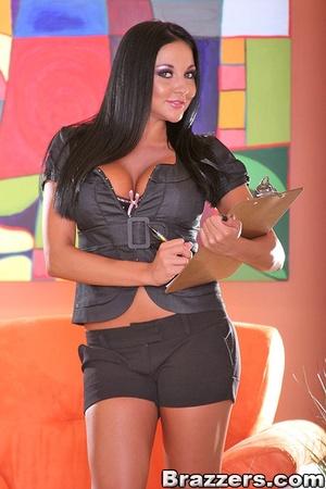 Big tit. Audrey Bitoni fucks her clients - XXX Dessert - Picture 1
