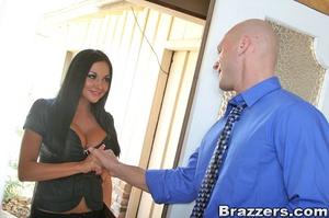Big tit. Audrey Bitoni fucks her clients - XXX Dessert - Picture 4
