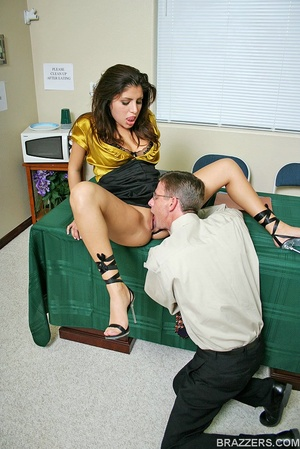 Office porn. Busty lawyer Sativa Rose is - XXX Dessert - Picture 2