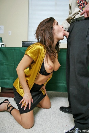 Office porn. Busty lawyer Sativa Rose is - XXX Dessert - Picture 3