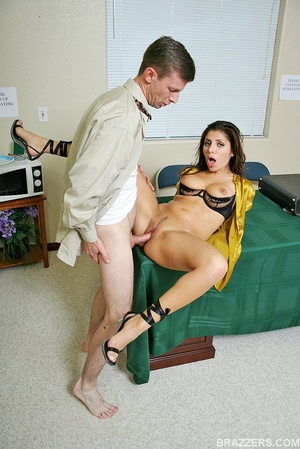 Office porn. Busty lawyer Sativa Rose is - XXX Dessert - Picture 10