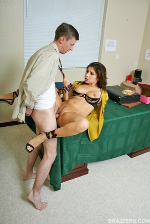 Office porn. Busty lawyer Sativa Rose is - XXX Dessert - Picture 11