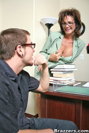 Office fuck. Deauxma takes young mans fa - XXX Dessert - Picture 6