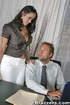 Office xxx. Big Titted employee slammed hard on employers desk.