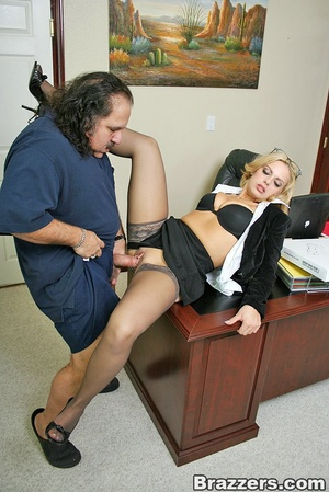 Busty porn. Big titted office girl gets  - XXX Dessert - Picture 6
