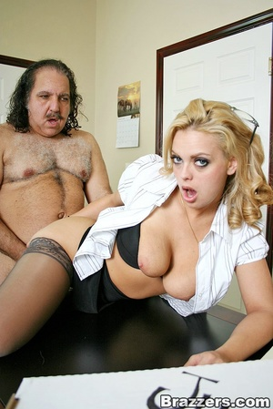 Busty porn. Big titted office girl gets  - XXX Dessert - Picture 13
