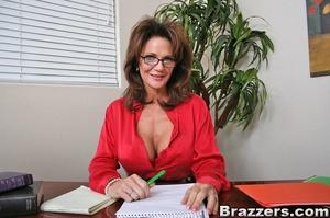 Secretary sex. Office Babe gets her brai - XXX Dessert - Picture 1