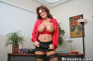 Secretary sex. Office Babe gets her brai - XXX Dessert - Picture 4