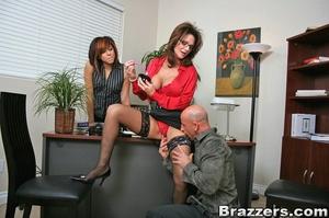Secretary sex. Office Babe gets her brai - XXX Dessert - Picture 7