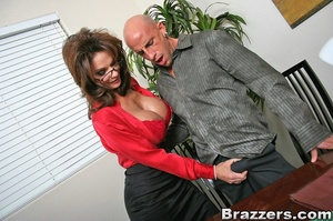 Secretary sex. Office Babe gets her brai - XXX Dessert - Picture 8