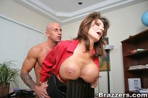 Secretary sex. Office Babe gets her brai - XXX Dessert - Picture 13