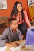 Office girls. Big titted secretary Olivia gets rammed by boss.