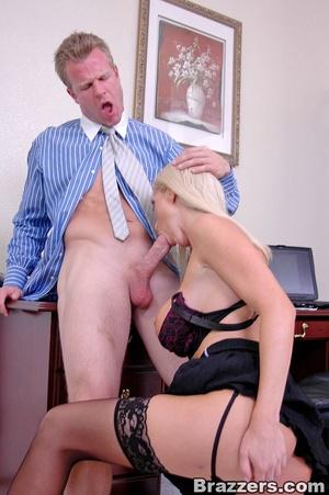 Sex at office. Busty Nikki Benz really w - XXX Dessert - Picture 10