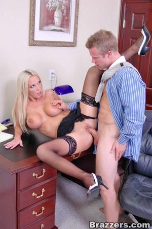 Horny secretary. Nikki Benz going anythi - XXX Dessert - Picture 13