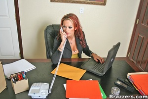 Busty porn. Office Whore Monica Mayhem g - XXX Dessert - Picture 1