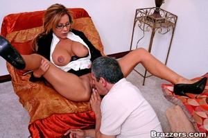 Office girls. Demi Delia and her big tit - XXX Dessert - Picture 7