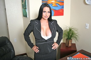 Office girl. Harley Raine gets fucked in - XXX Dessert - Picture 1