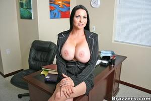 Office girl. Harley Raine gets fucked in - XXX Dessert - Picture 2
