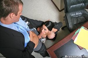 Office girl. Harley Raine gets fucked in - XXX Dessert - Picture 6