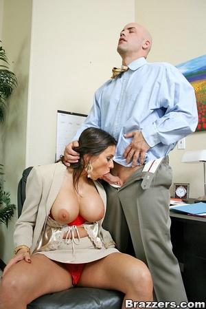 Xxx boobs. Super huge titted babe sucks  - XXX Dessert - Picture 8