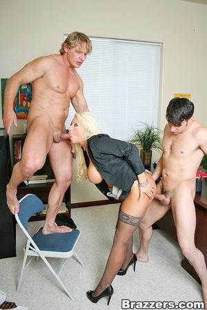 Sexy tits. Busty blonsw secretary gettin - XXX Dessert - Picture 10