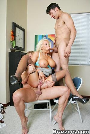 Sexy tits. Busty blonsw secretary gettin - XXX Dessert - Picture 12