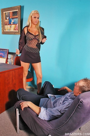 Fuck in office. Big titted sales woman E - XXX Dessert - Picture 3