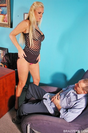 Fuck in office. Big titted sales woman E - XXX Dessert - Picture 4