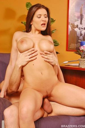 Big tits porn. Huge titted Austin Kincai - XXX Dessert - Picture 11