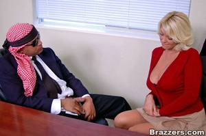 Busty porn. What a busty assistant like  - XXX Dessert - Picture 5