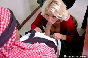 Busty porn. What a busty assistant like  - XXX Dessert - Picture 7
